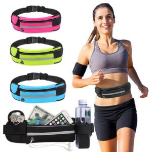 Waterproof-Fitness-Sports-Runner-Waist-Bag-Belt--Bizkeez